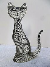 VTG Abraham Palatnik Acrylic Lucite Feline Cat Figurine Sculpture Kinetic 2475