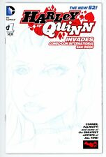 HARLEY QUINN INVADES COMIC-CON SKETCH COVER BY AUSTIN JANOWSKY