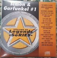 LEGENDS KARAOKE CDG SIMON & GARFUNKEL #1 OLDIES 1970'S 058 18 SONGS CD+G MUSIC