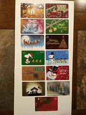 "Wal-Mart Gift Cards 2020 "" 14 WAL-MART CHRISTMAS GIFT CARDS "" GREAT PRICE~ NO $$"