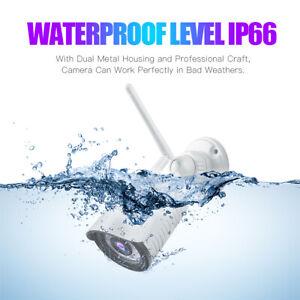 Outdoor Bullet Waterproof WiFi 1080P HD Security IP IR Camera Night Vision