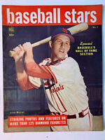 1949 Stan Musial DELL BASEBALL STARS Vol 1 No.1; 1st Issue GOOD/VERY GOOD Cond