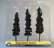 "WOODLAND SCENICS CONIFER GREEN REALISTIC TREES 6 to 7"" o train land WDS1562 NEW"