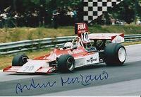 Arturo Merzario Hand Signed 12x8 Photo Formula 1 F1 6.