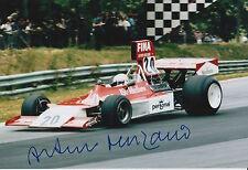 Arturo Merzario Firmato a Mano 12x8 photo formula 1 f1 6.
