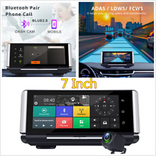 7 Inch FHD 1080P Car Dual Lens WIFI GPS Navigation Driving Recorder Android 5.1