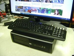 HP Compaq 8100 Elite - Core i7 2.8GHz, 4GB mem, 750GB HDD, GeForce, Windows 10