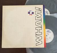 Wham! - The Final 1st Press Greek '86 2LP Vinyl Record Epic ORG Com Rare EX-/VG+