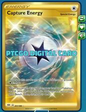 1 x Capture Energy (Secret Rare) 201/189 PTCGO Pokemon Online Digital Card!
