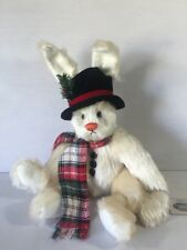 GANZ First Edition Cottage Collectible Christmas Bunny Rabbit