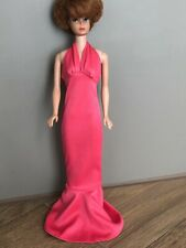 Vintage Cher Mego Pink Gown-Fits Barbie Doll pretty good-Very nice & very fun!
