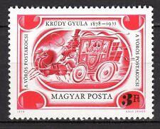 Hungary - 1978 Gyula Krúdy (writer) / Coach - Mi. 3318 MNH