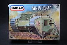 YT018 EMHAR 1/72 maquette tank char EM5001 MkIV Male Heavy Battle Tank WWI