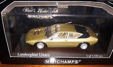 Minichamps 1/43 Lamborghini Urraco 1974 gold