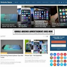Iphone Store Business Website For Sale Mobile Friendly Responsive Design