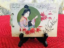 Meiji Era Kanaya Hotel Guide Book with Map - Nikko, Japan - Must See!