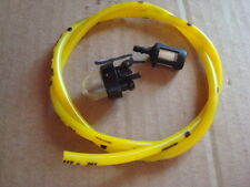 Primer Bulb Snap IN fuel line & Filter REPL  McCulloch chainsaw 3210 3214 3216