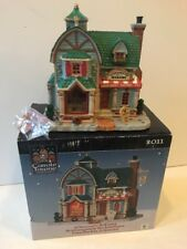 Carole Towne Christmas Village Collection Lemax Johanna's Bakery HTF