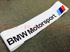 BMW Motorsport Windshield Sunstrip Decal Sticker M2 M3 M4 M5 M6 Z4 Free Ship x 1