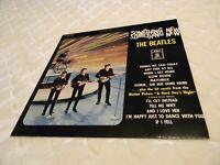 The Beatles Something New lp vinyl record LC 0287 Germany