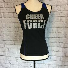 Chasse Razer Tank Top Cheer Force Glitter Cheerleading sports Performance S