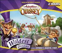 NEW In Your Wildest Dreams #34 Adventures in Odyssey 4 Audio CD Vol Set Volume