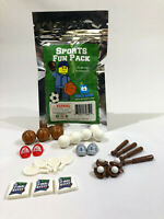 Sports Fun Pack - 32 Brick Minifigure Accessories - fits LEGO