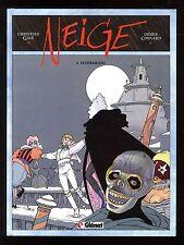 NEIGE  T.4   Intermezzo  GINE / CONVARD   GLENAT  EO  Comme Neuf