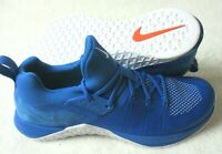 Nike Mens Metcon Flyknit 3 Cross Training Shoes Game Royal Blue White Size 10.5