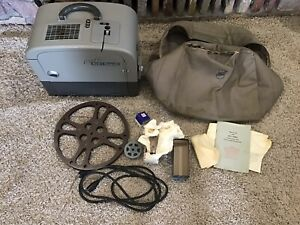 Bell & Howell Filmosound 285 Movie Projector 16mm With Built In Speaker