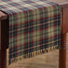 """Gray, Navy, Green, Red Plaid 13""""x36"""" Prim, Country, Park Designs Table Runner"""