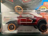 2019 HW HOT TRUCKS Design SANDBLASTER☆red Ford Truck; M/&M 541☆LOOSE Hot Wheels