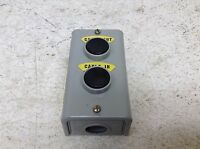American Gage AG2800 2 Pushbutton Station New