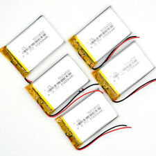 5PCS LI-PO 3.7V 1000 mAh Li-polymer rechargeable Battery 053450 for GPS MP4 MP5