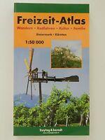 Freizeit Atlas Steiermark Kärnten Wandern Radfahren Kultur Familie Freytag Bernd