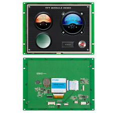 8.0 Inch Programmable HMI TFT LCD Screen With Touch Control Function