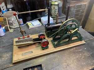 Working Model Of Live Steam Minehead D/A Piston Engine And Boiler - Scale Piece