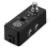Donner ABY BOX Effect Pedal DC 9V Aluminum alloy True Bypass Guitar Pedal Black