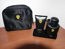 Ferrari Black Profumo EDT 75 ML Vapo + Shampo e Shower Gel 50 ml
