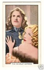 Marlene Dietrich The Scarlet Empress -  Cigarette Card