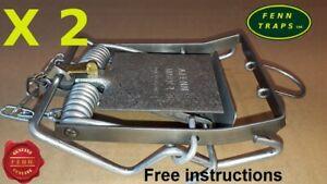 Fenn traps x 2 Mark4 + indicator  Mk4  BUY DIRECT