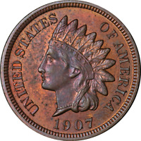 1907 Indian Cent Proof Nice PR Nice Eye Appeal Strong Strike