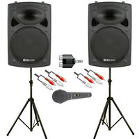 Astounded Soundblaster 800W Active Speaker Solo/Duo DJ PA System