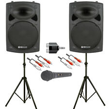 Astounded Soundblaster 600W Active Speaker Solo/Duo DJ PA System