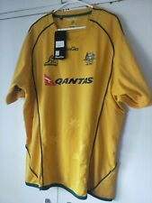 2011 WC WALLABIES Mens Australia Replica Rugby Union Jersey 2xl