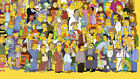 "The Simpsons TV SHOW MOVIE POSTER FRIDGE MAGNET 3.5 x 5 inch 3.5""X5"" REFRIGERATO"