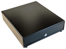 """APG Manual Black 16"""" by 16"""" by 5"""" Cash Drawer without Cash Till VP101-BL1616"""