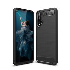 Huawei nova 5T Handyhülle Silikon Hülle Case Schutzhülle Cover Carbon Farben