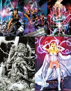 Jay Anacleto 5 Book Virgin Lot Marvel Dynamite Red Sonja X-Men Wholesale Price