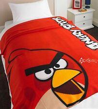Angry Birds rossa in pile Coperta Letto Buttare Ufficiale Nuovo Regalo